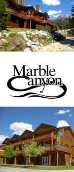 Marble outdoor photo strip